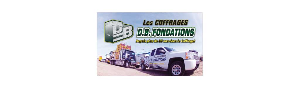 Les coffrages D.B. Fondations